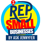 I Rep Small Businesses - Logo - Small