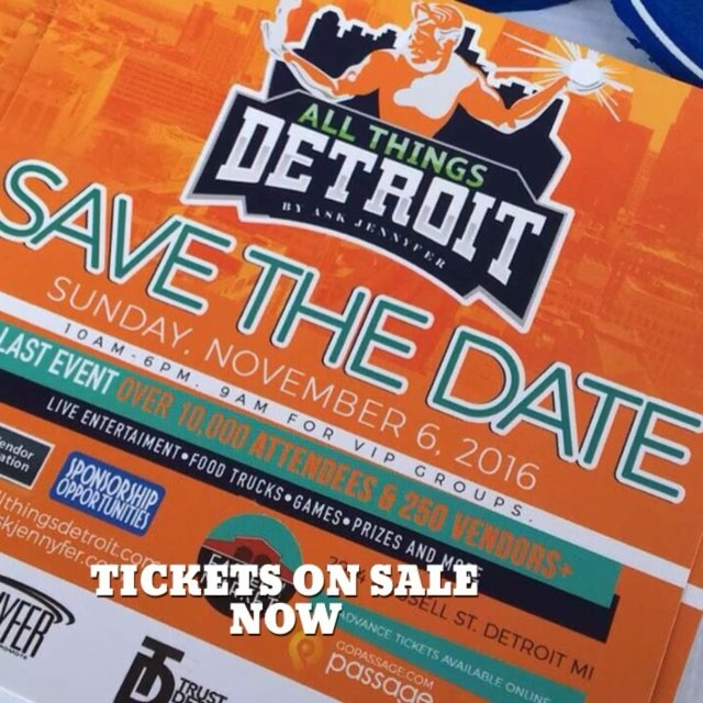 All Things Detroit - Tickets