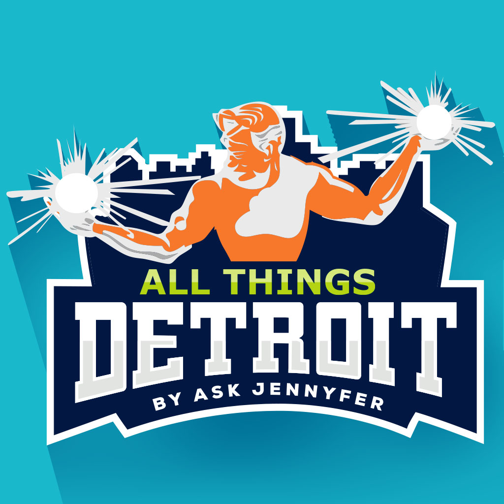 All Things Detroit - Logo Shadow